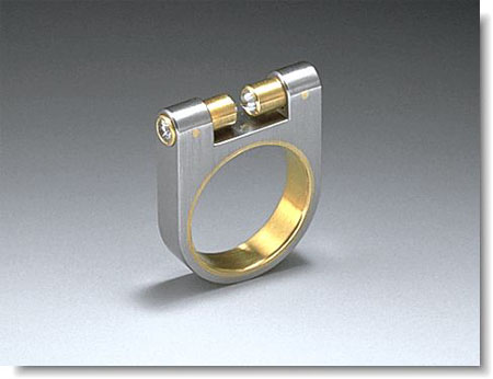 Abrasha Machined Ring