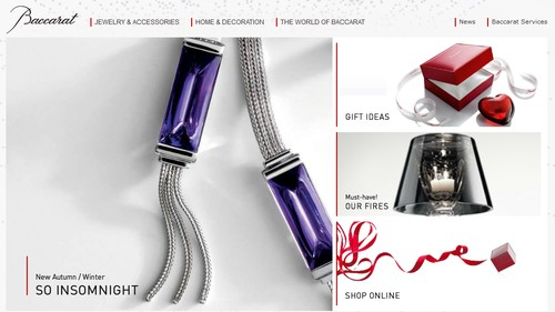Baccarat Jewelry Gifts
