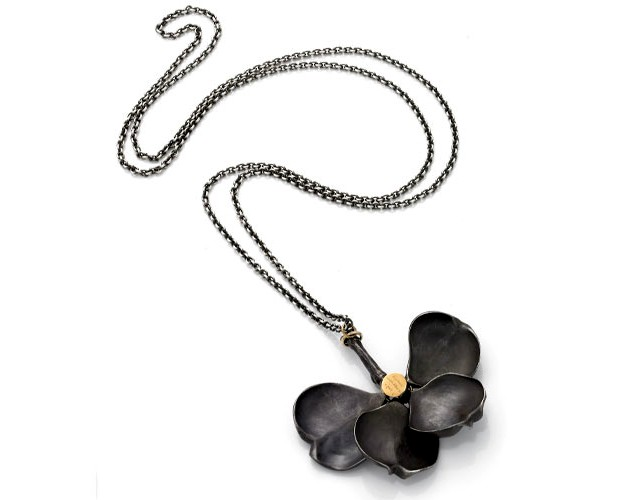 Jeanine Payer Jeanine Payer Ring Black Dogwood Necklace