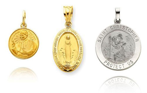Catholic Patron Saint Medals