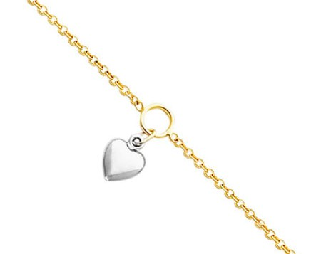 Dangle Heart Anklet