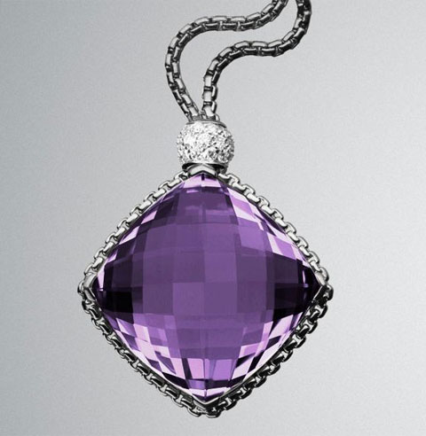 David Yurman Amethyst Necklace