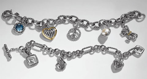 David Yurman Cable Charms