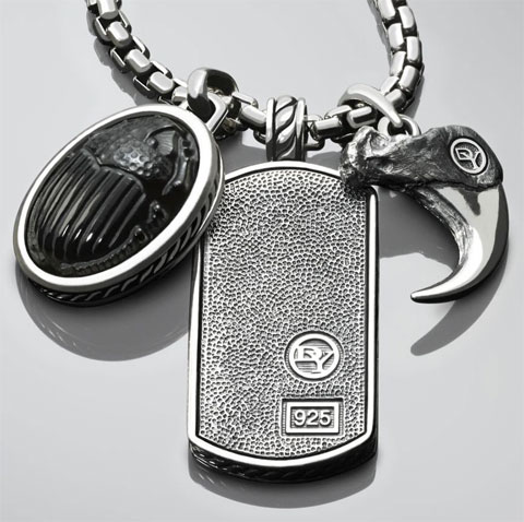 David Yurman Mens Necklace