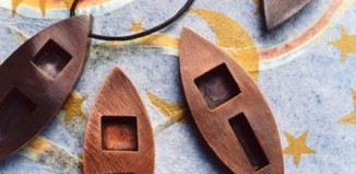 Elizabeth R. Agte Copper Necklace