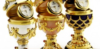 Faberge Eggs Clocks