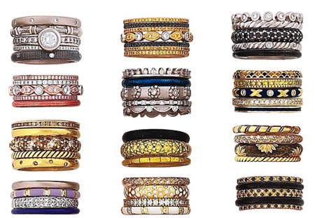Hidalgo Stackable Rings