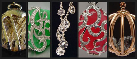 Julinda Chia Morgan Pendants