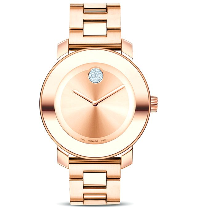 Gold Movado watches