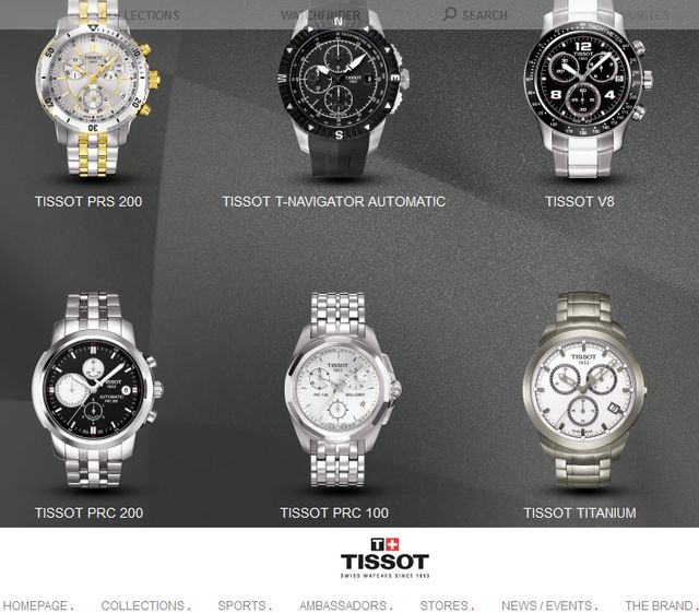 Original Tissot Watches