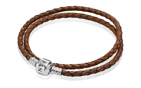 Pandora Double Leather Bracelet