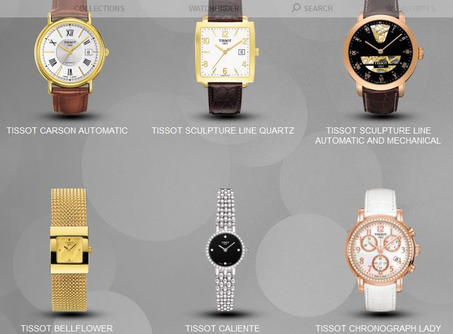 Tissot Gold Watches