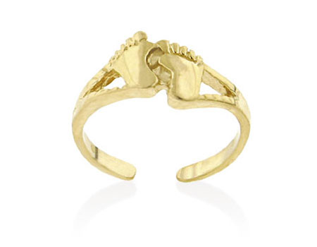 Yellow Gold Toe Ring
