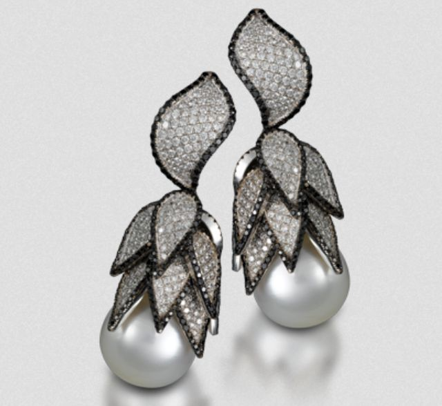 Yvel white gold earrings