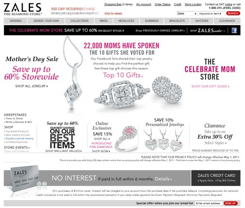 Zales Diamond Store